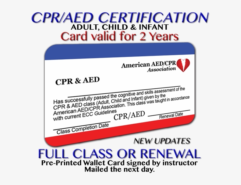 Standard Cpr Certification With Aed Basic Life Support Free