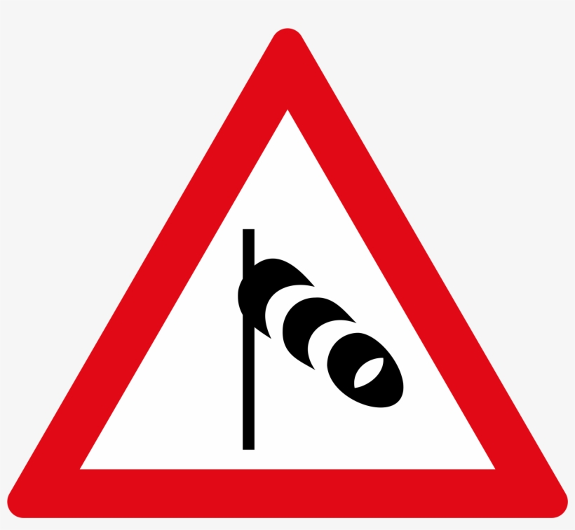 Winding Road Sign Right Left - Two Way Road Sign, transparent png #3561777