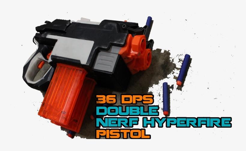 Nerf Elite Hyperfire Mod - Nerf N-strike Elite Hyperfire Blaster, transparent png #3563806