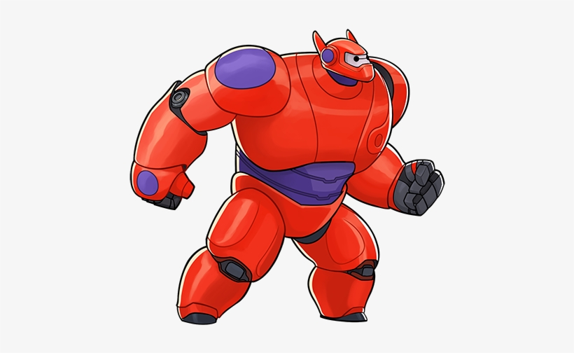 Baymax Is A Front Line Tank Hero Baymax's Hero Chips - Disney Heroes Battle Mode Characters, transparent png #3569152