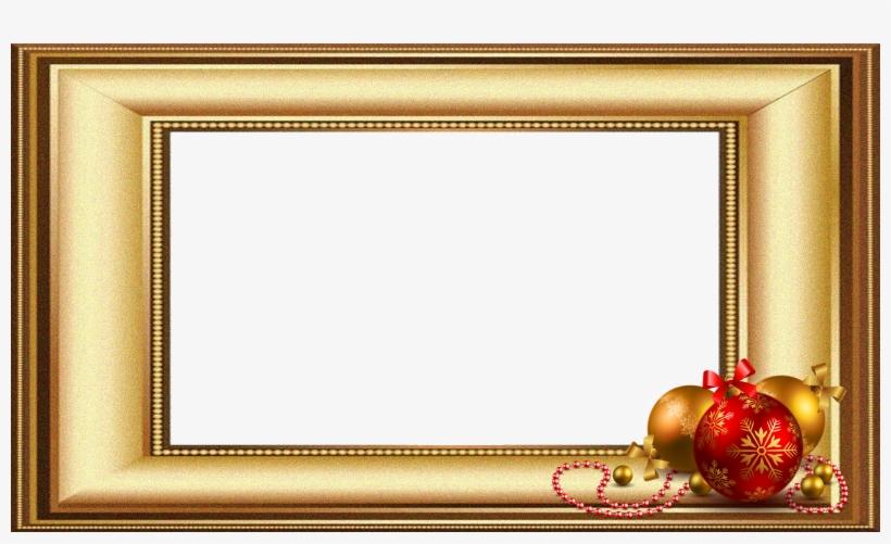 Natal 2 -moldura Dourada 2 Fhd - Various Artists / The Christmas Music Anthology, Vol., transparent png #3569154
