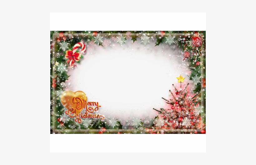 Merry Christmas Frames Png Photo Frame And Happy - Happy New Year Png Frame, transparent png #3571199
