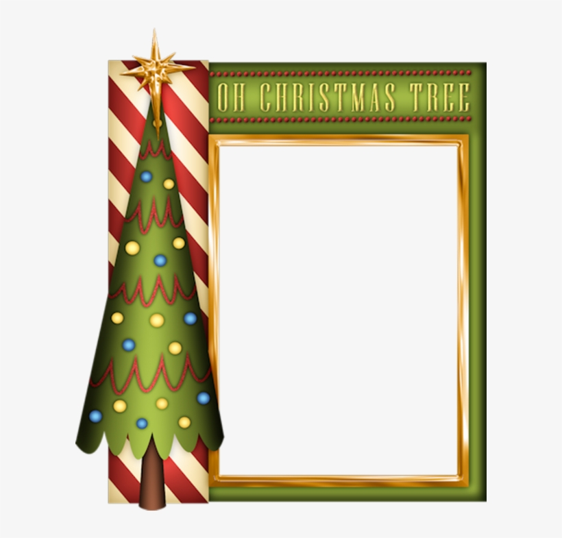 Christmas Frames, Christmas Gift Tags, Winter Christmas, - Ginger Christmas Frame Png, transparent png #3571314