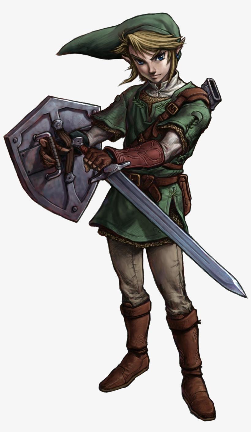 Favorite Link Design - Link Zelda Twilight Princess, transparent png #3571494