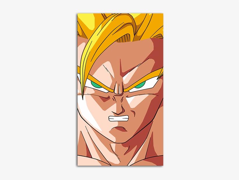 Goku Saiyan Hd Wallpaper For Your Mobile Phone - Goku Ssj2 Dragon Ball Z, transparent png #3572080