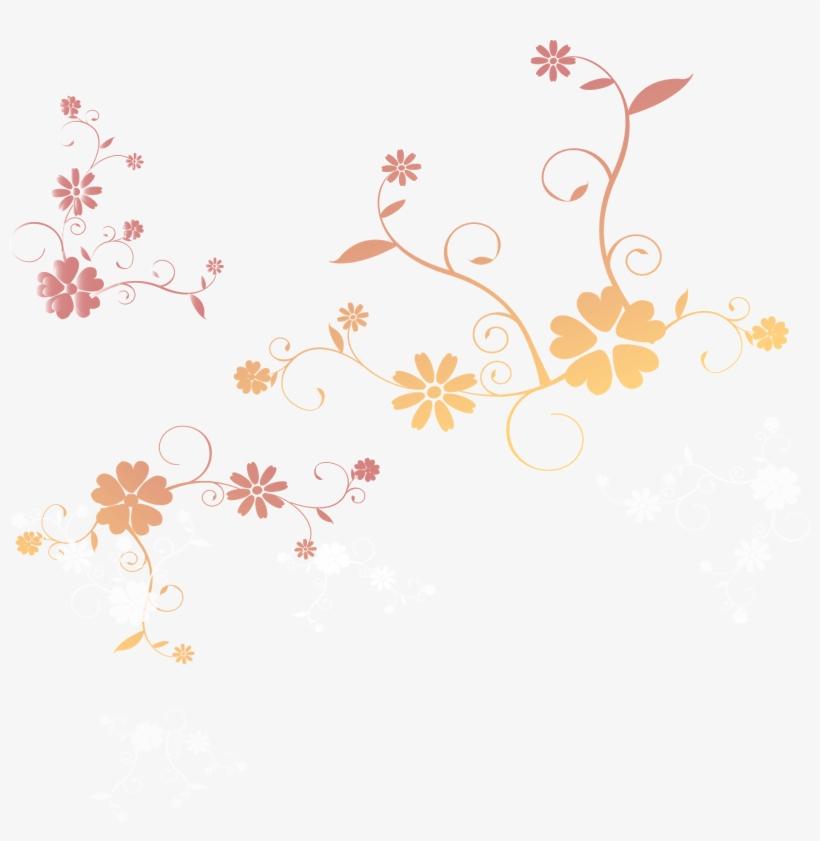 Apresentamos Alguns Tipos De Flores E Ornamentos Para - Flores Com Fundo Transparente Png, transparent png #3572524