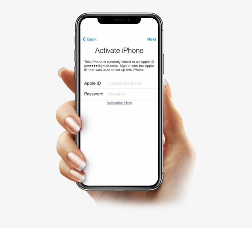 Icloud Unlock - Iphone X Activation Lock - Free Transparent PNG