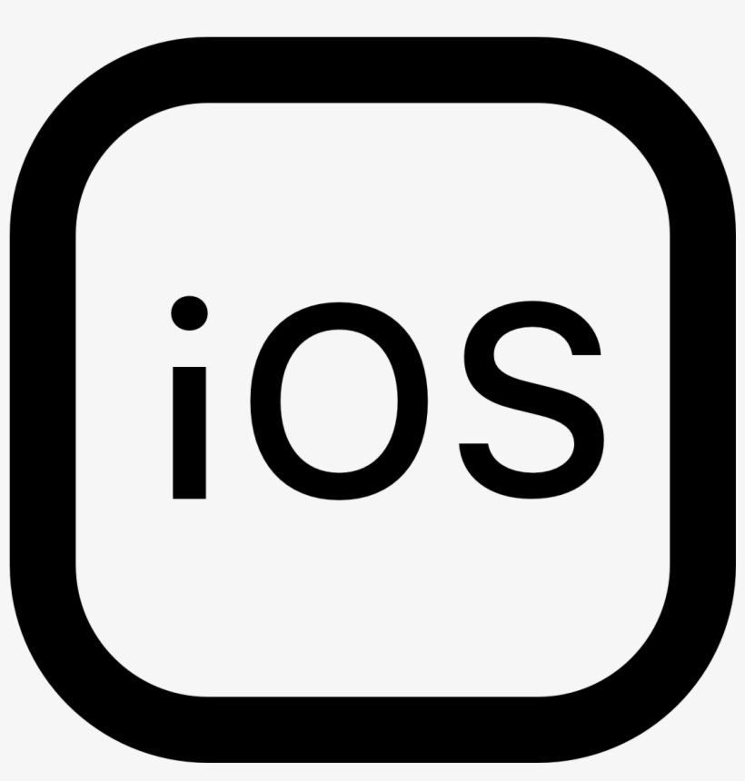 Ios Icons Png Download - Black Instagram Icon Png, transparent png #3577692