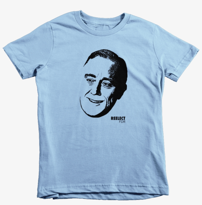 Kids For Fdr - Short Sleeves Kids T Shirt, transparent png #3589160