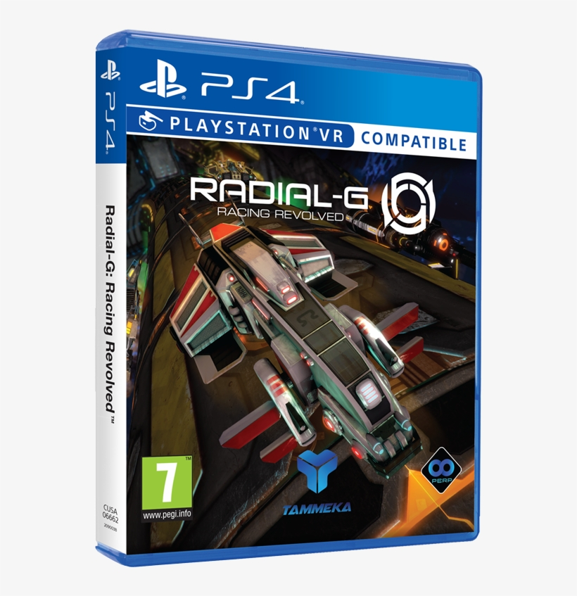 Prepare To Race On A Track Like No Other - Radial-g (playstation 4) Playstation 4, transparent png #3590805