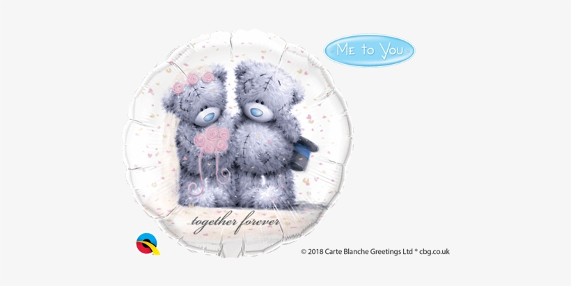 Qualatex 18 Inch Round Foil Balloon - Me To You, transparent png #3593644