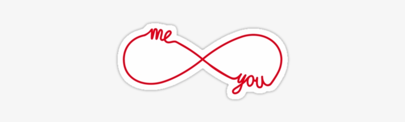 You And Me Together Forever, Infinity Sign - You And Me Together Forever Pillow Case, transparent png #3593996