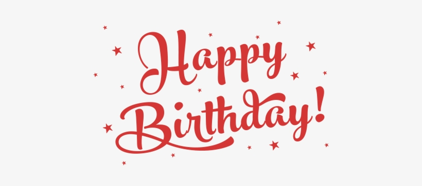 First Name - Happy Birthday Png Text Black, transparent png #3594132