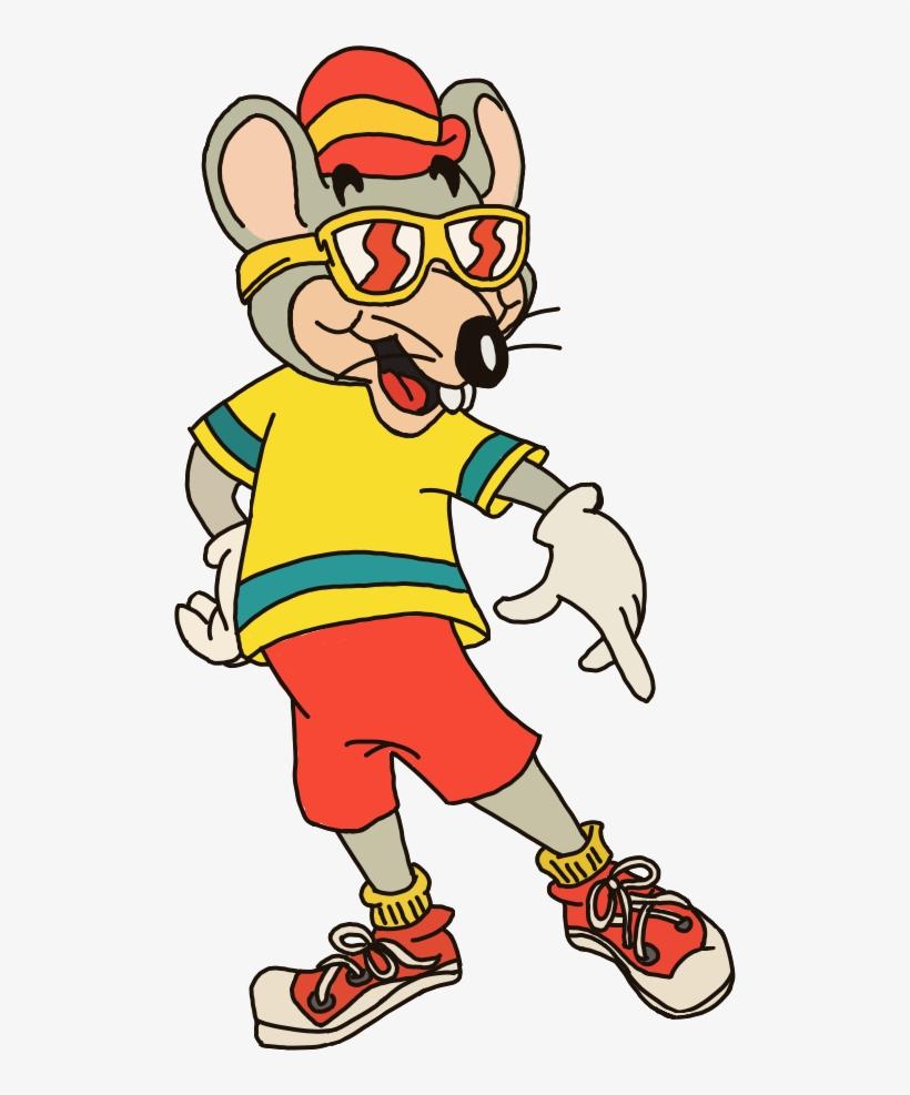 Summer Rat Vector From Shorts - Chuck E Cheese Art, transparent png #3594271