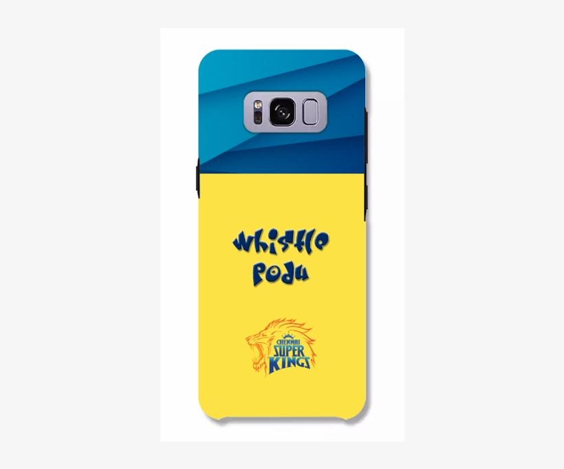 Csk Whistle Podu For Samsung - Indian Art Sticker (oval), transparent png #3597070