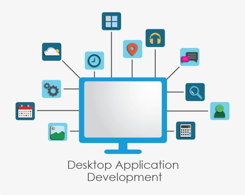 Custom Application Development Services Are Provided - Desktop Applications, transparent png #360306