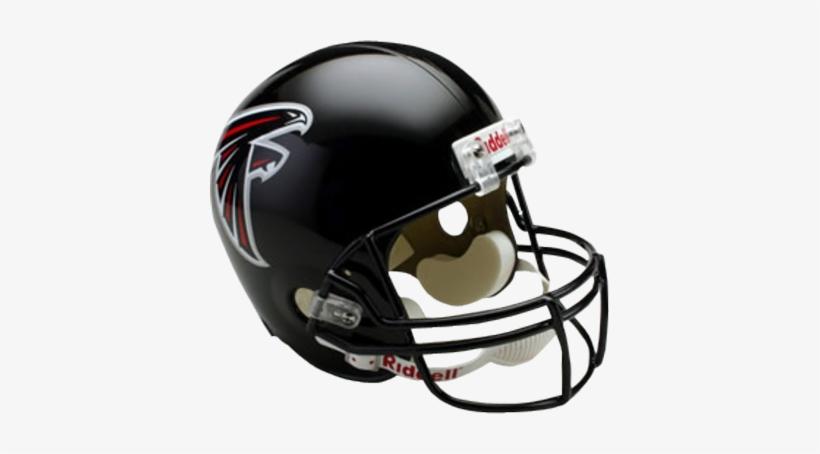 Atlanta Falcons Helmet Emblem Png Logo - Atlanta Falcons Nfl Riddell Replica Mini Football Helmet, transparent png #361845