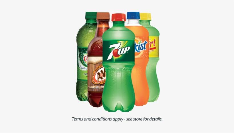 8822 8 Giant Web Sept Soda - 7up, 20 Fl Oz Bottle, transparent png #361999