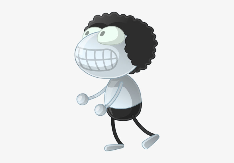 Afro Guy - Creepy Afro Guy Poptropica, transparent png #362402
