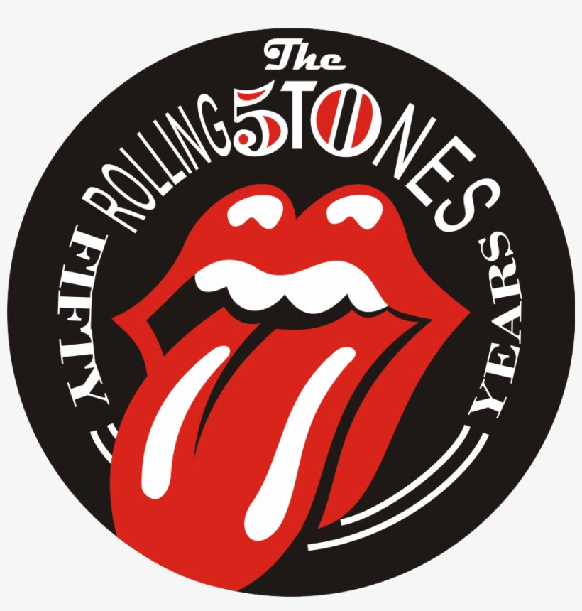 Rolling Stones Tongue Logo - Rolling Stones Fifty Years, transparent png #362700