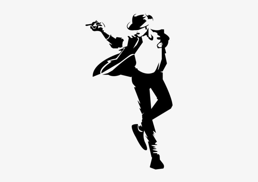Pegatina Michael Jackson Silueta Vinilo - Michael Jackson Vinilo, transparent png #362808