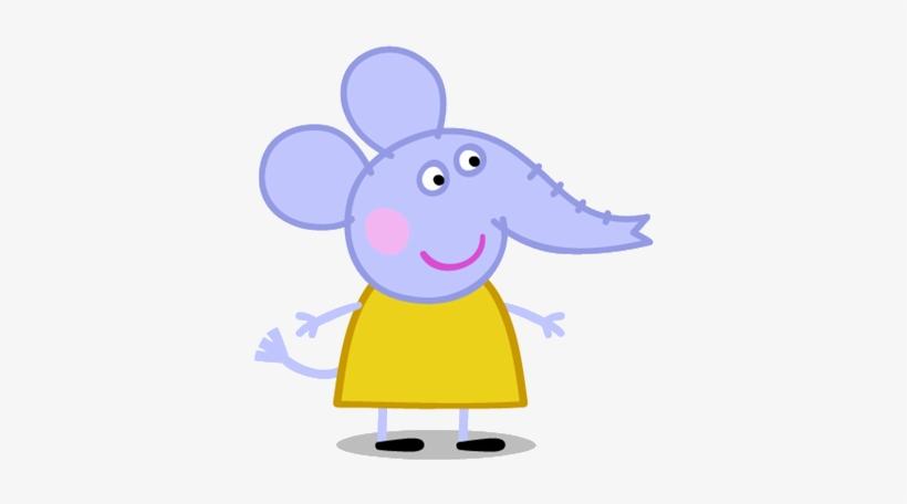 Emily Elephant - Elephant From Peppa Pig - Free Transparent PNG