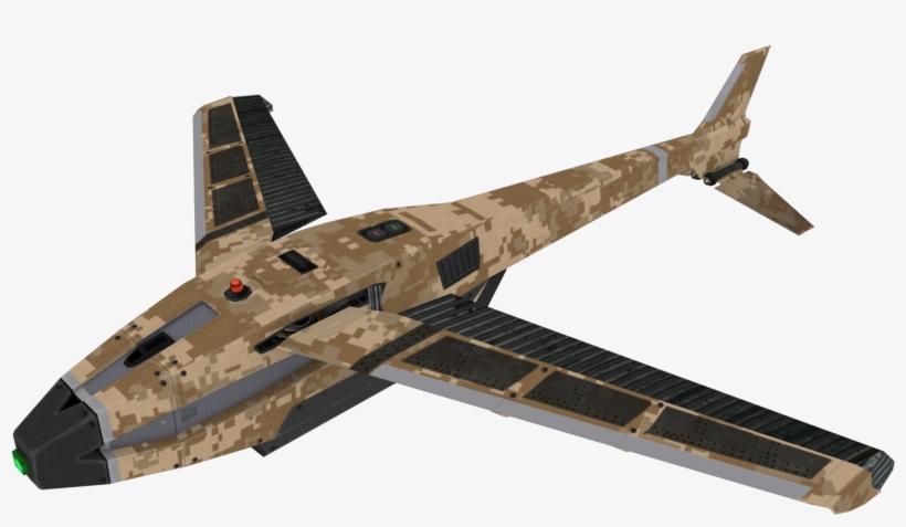 Hunter Killer Drone Model Boii - Call Of Duty Black Ops 2 Hunter Killer, transparent png #364069