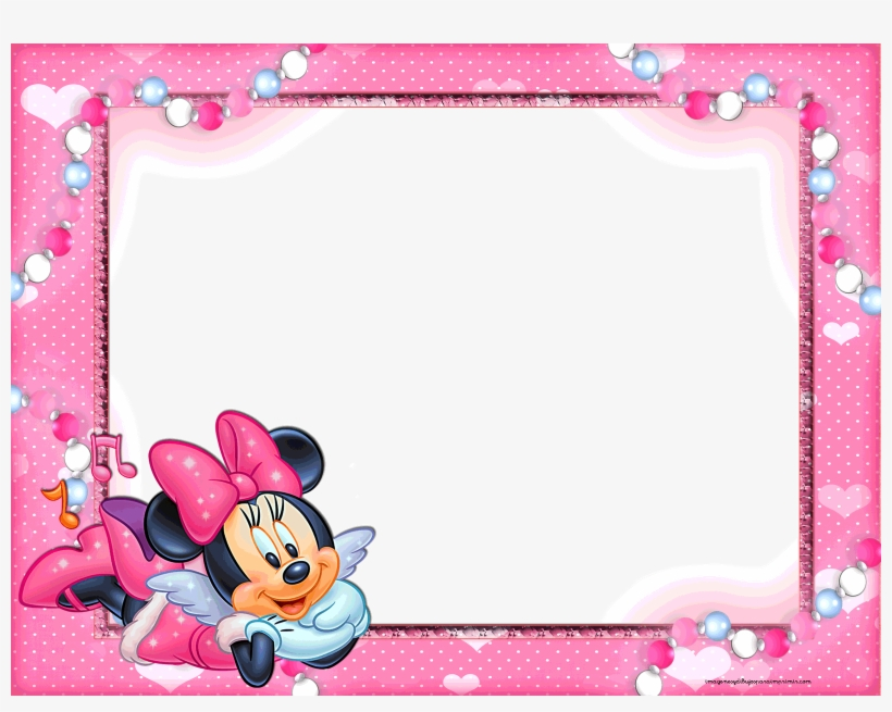 Baby Minnie Mouse Wallpaper Wallpapersafari - Marcos De Minnie Mouse