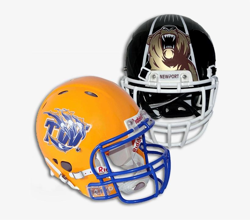 Football Helmet Decals - Football Helmet, transparent png #365010