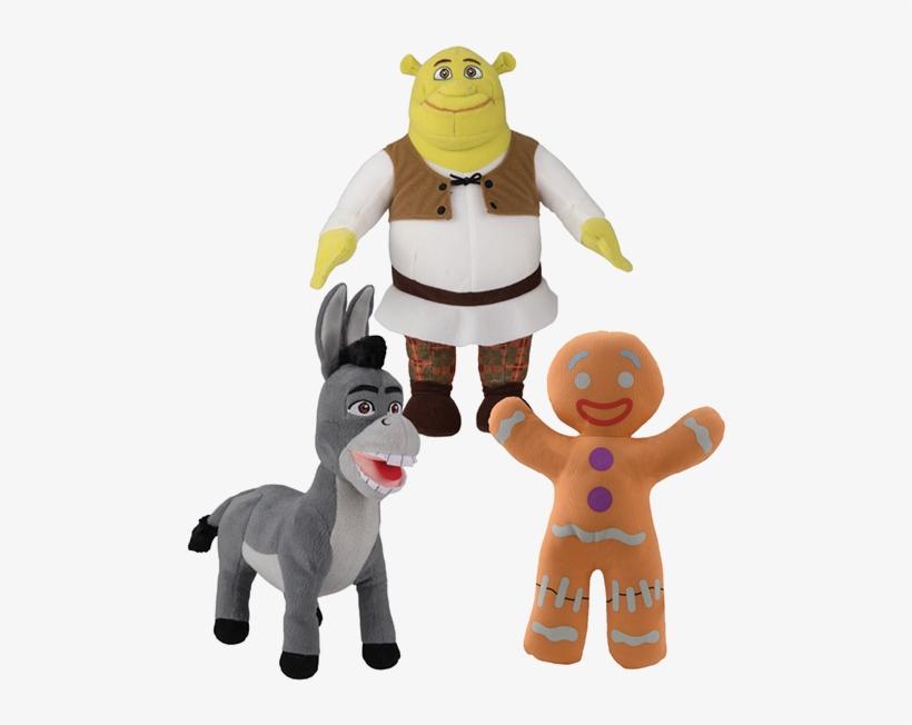 Shrek Asst - - Shrek Plush Toy Factory, transparent png #365201