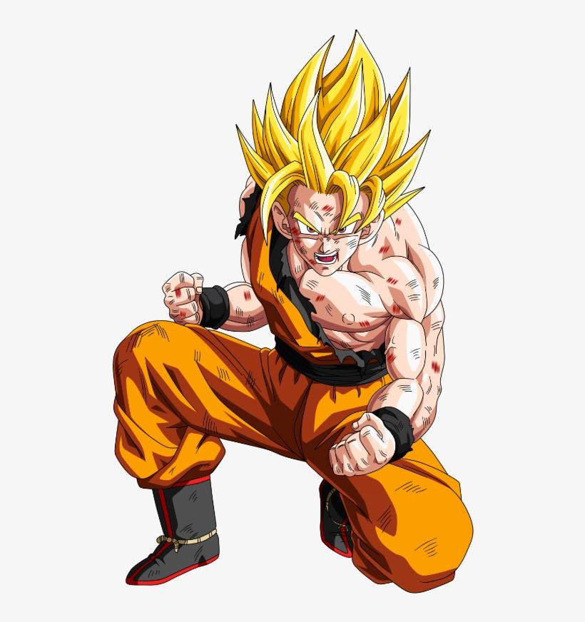 Super Saiyan 2 Should Have Added Pupils And Made The - Goku Super Saiyan Brown, transparent png #365758