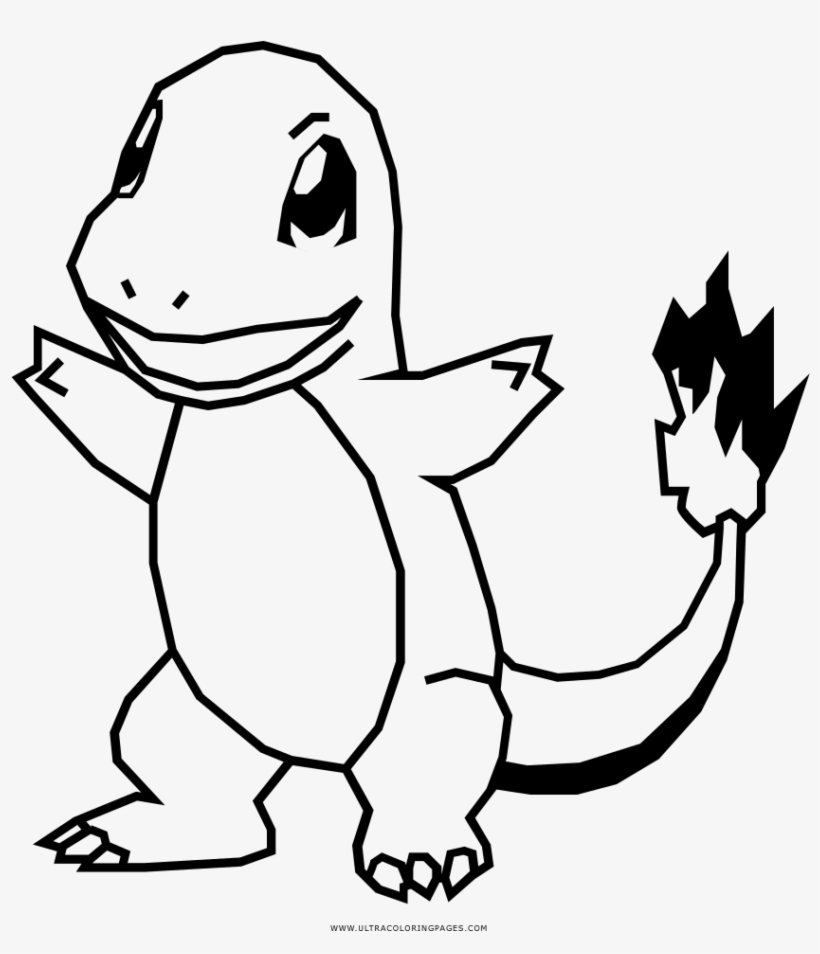 Charmander Coloring Pages With Page Ultra - Pokemon Coloring Pages, transparent png #367087