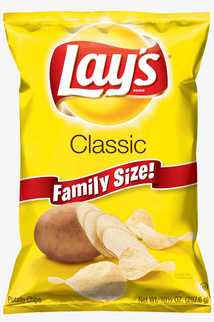 Free Png Lays Potato Chips Png Images Transparent - Lay's Classic Potato Chips - 10.5 Oz Bag, transparent png #367203