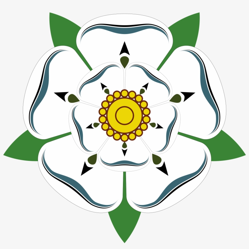 Open - House Of York And Lancaster Rose, transparent png #367355