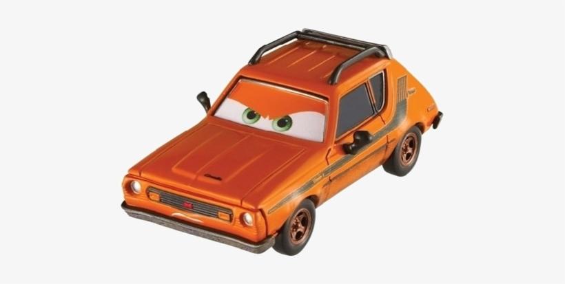 Character Cars2 Grem Minion - Orange Car On Cars 2, transparent png #367663