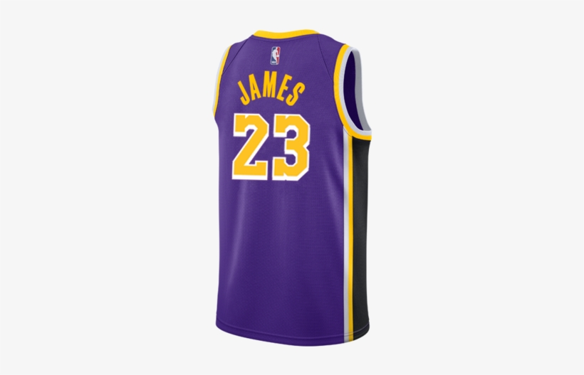 b9b7d63c0 Los Angeles Lakers Lebron James 2018-19 Statement Edition - Nike Brooklyn  Nets Black Swingman
