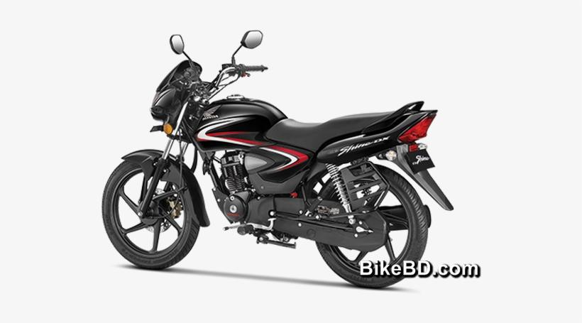 Cb Shine - Honda Cb Shine Black, transparent png #369037