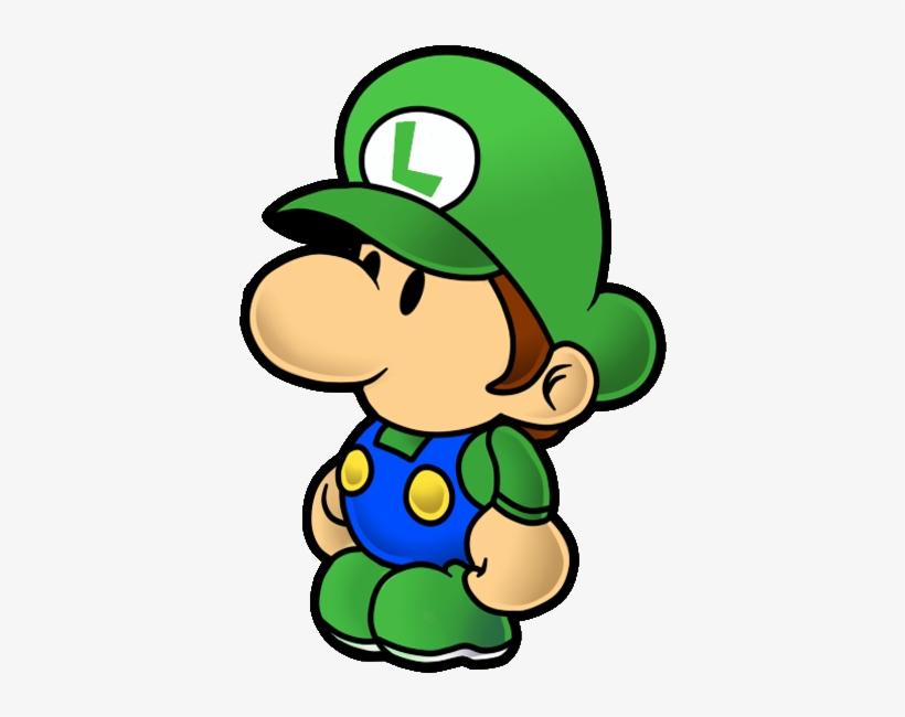 Luigi paper. Clipart mario baby free