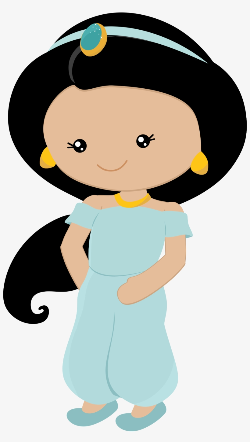 Jasmine Clipart Indian Princess - Little Princess Disney Png, transparent png #369231