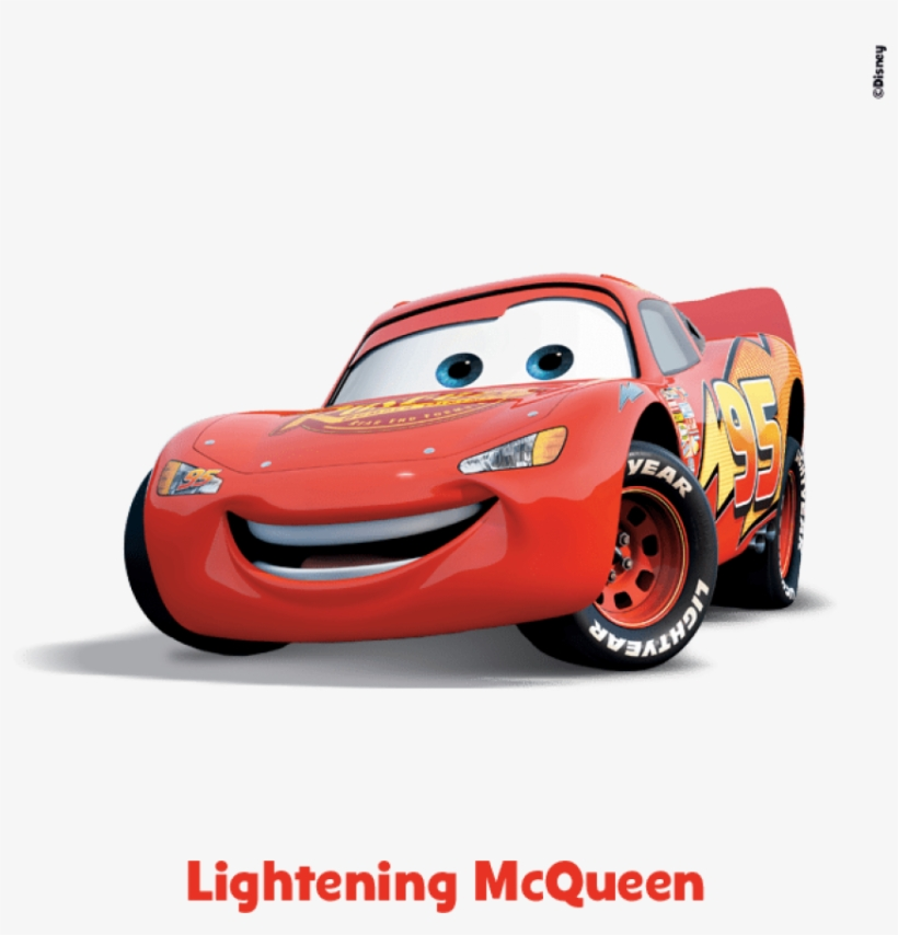 This Hotshot Race Car Is The Main Character In The - Cars Race O Rama Lightning Mcqueen, transparent png #369611