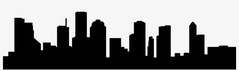 Graphic Library Library Cleveland Skyline Clipart - Houston Skyline Outline Png, transparent png #369805