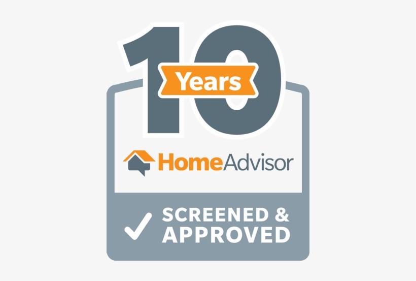 Homeadvisor Screened Pro Home Advisor 5 Year Logo Free