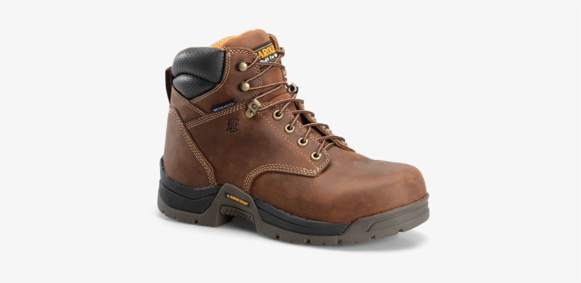 "Men's 6"" Waterproof Broad Composite Toe Work Boot, transparent png #3611415"