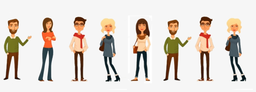 Meet The Team Cartoon - Our Team Animation, transparent png #3613722