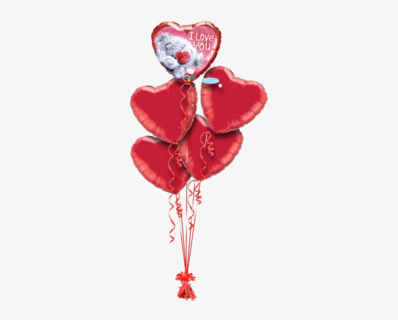Me To You Tatty Teddy Love You Sorry Balloon - Romantic Me To You Teddy Bear And Balloon Gift, transparent png #3616440