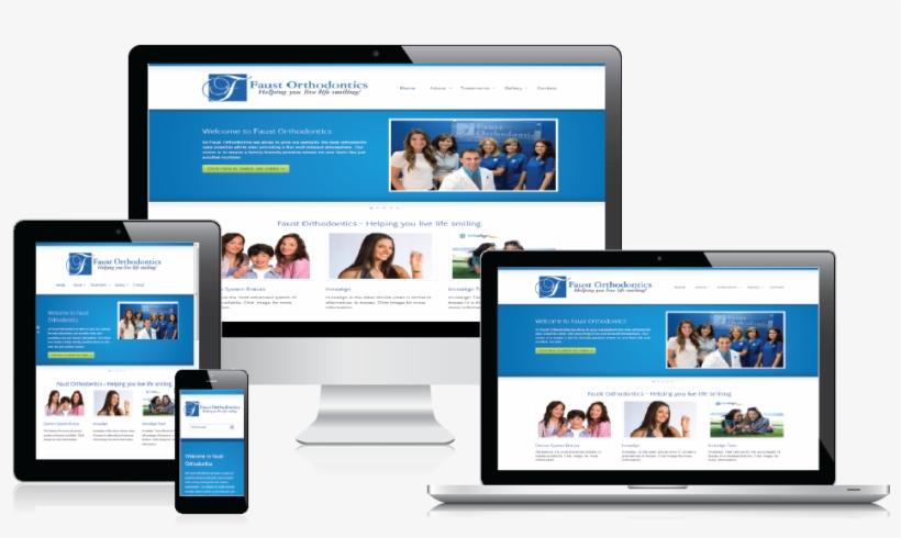 Dental Practice Website Design Services By Smile Marketing - Display Website, transparent png #3616441