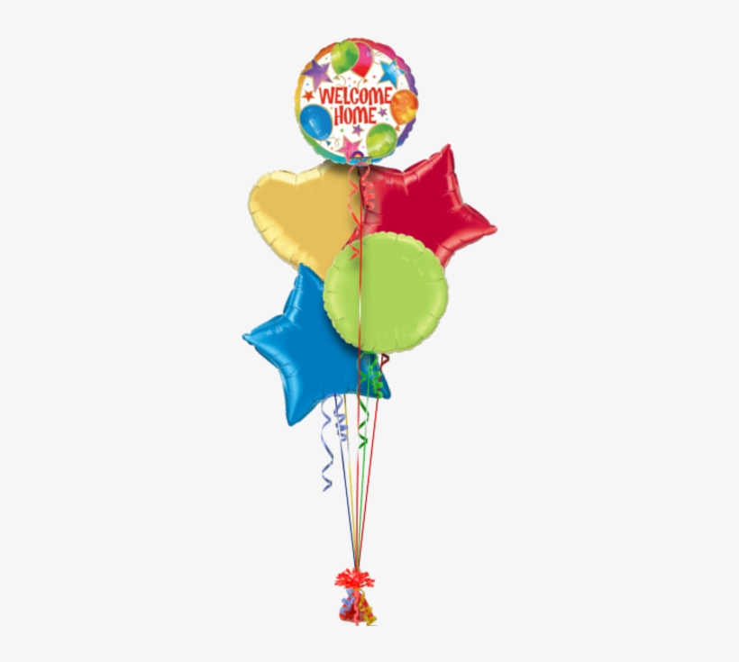 Welcome Home Congratulations Balloon - Happy Birthday Hot Air Helium Balloon, transparent png #3616623