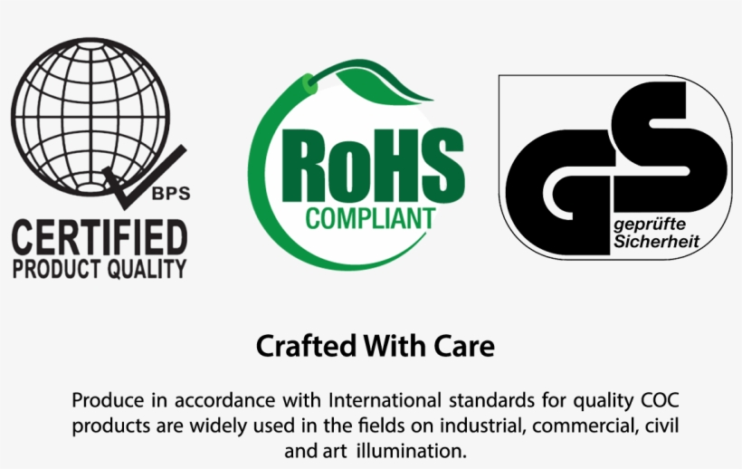 Of Their Products - Bps Certified Product Quality Logo, transparent png #3619683