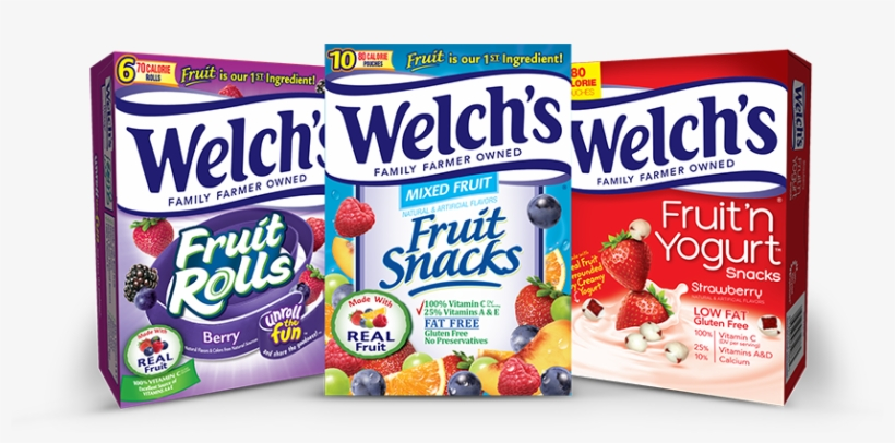 Welch's® Fruit Snacks Coupons - Welch's Fruit Rolls Berry Flavor, transparent png #3619962
