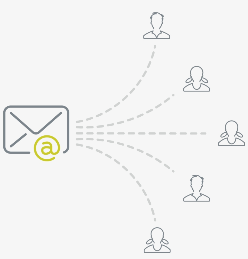 Email Marketing - Email Marketing White Icons Png, transparent png #3620074
